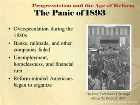 reasons for the depression of 1893 The panic of 1873 stands as the first global depression brought about by industrial capitalism it began a regular pattern of boom and bust cycles that.